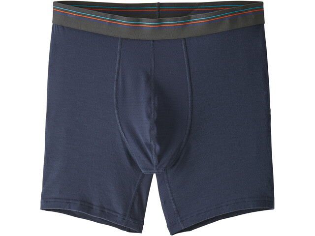"Patagonia M's Essential A/C Boxer Brief 6"" Neo Navy"